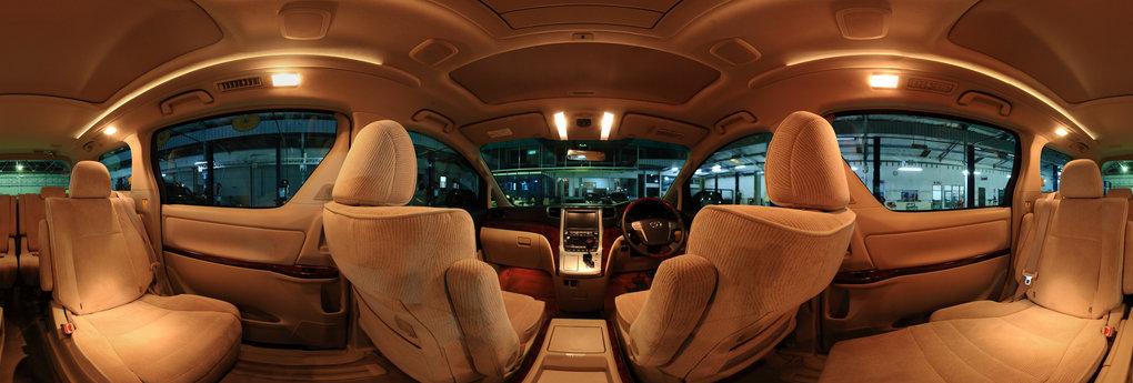 Interior Of Toyota Alphard 360 Panorama 360cities
